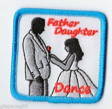 Girl Scouts Embroidered Badge Fun Patch~Father Daughter Dance