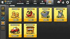 Hill Climbing 2 Mobile Game 7500 Gems and 2,500,000 Coins Android and iOS