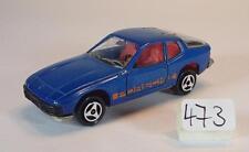 Majorette 1/60 Nr. 247 Porsche 924 Coupe dunkelblau Nr. 1 #473