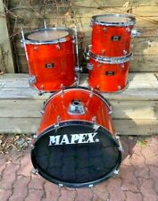 Mapex Mars Series Drums 12,13,16,22 Shell Pack Amber