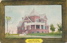 LINCOLN NE – W. J. Bryan House Fairview