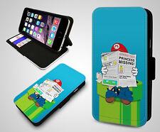 Nintendo Super Mario Bros Yoshi Luigi Game Boy De Cuero Billetera Teléfono Estuche Cubierta