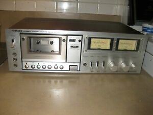 HITACHI D580 STEREO CASSTTE DECK    excellent cosmetic condition JUST SERVICED!