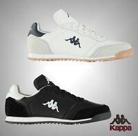Mens Kappa Logo Panelled Upper Denser DLX Trainers Footwear Sizes UK 7-11