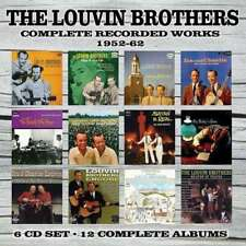 Louvin Brothers, The - Complete Recorded Works 1952-62 NEW CD BOX SET