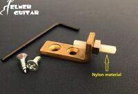 Tremolo Stopper /Stabilizer for Floyd Rose Style Bridges - Nylon Screw,  Brass