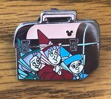 Disney Pin Back to School Lunch Box Flora Fauna Merryweather Hidden Mickey