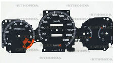 Gauge Faces Overlay kit Type-R style  for Honda Civic Ek VTI / SI