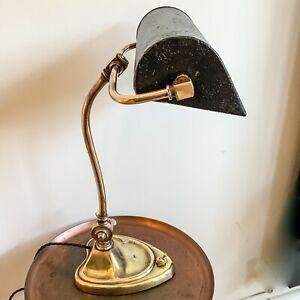 Art Nouveau Deco Bankers Desk Lamp 20's 30's