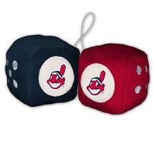 Cleveland Indians Plush Fuzzy Dice [NEW] MLB Car Auto Mirror Truck String