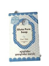 1x70g.GLUTA PURE SOAP WINK WHITE WHITENING BEAUTY SKIN NEW SUNSCREEN SPF50+ SOAP