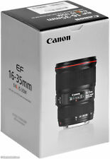 Canon EF 16-35mm F4L IS USM Ultra Wide Angle Zoom Lens  Brand New