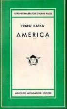 AMERICA FRANZ KAFKA 1947 MEDUSA MONDADORI (JA694)