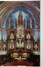 Main Alter, Notre Dame Church, Montreal, Quebec, Canada, Unposted PC P301977