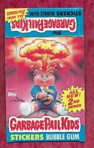 1985 Topps GARBAGE PAIL KIDS Original 2nd Series Empty Display Box