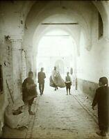 MAGHREB Maroc Algérie Tunisie, Photo Stereo Vintage Plaque Verre VR7L1n2