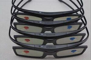 4  X Samsung Active 3D GLASSES Substitute for Epson RF3D Glasses ELPGS03