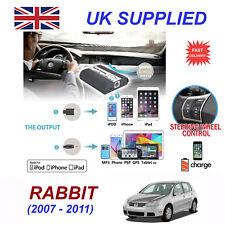 For VW Rabbit iPhone 5 6 7 8 SE 10 mp3 Aux Digital Audio CD Changer Module 12pin