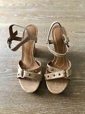 Antonio Melani Sandal Womans Strappy Sandal In Gold Size 6M