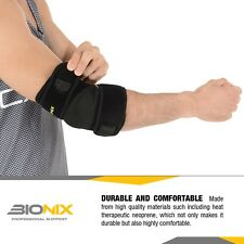 Bionix Elbow Support Brace Adjustable Tennis Golfers Strap Lateral Pain Syndrome