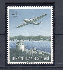 TURCHIA-TURKEY 1950 aereo Duglas  A 18 MNH