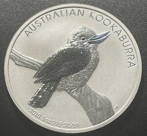 Australia 2010 Kookaburra One Ounce Silver Coin