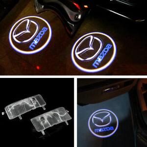 Car LED mazda logo door step courtesy laser projector light For Mazda 6 2003-13