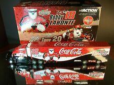 Tony Stewart #20 Bobby Labonte #18 Coca-Cola 1:64 2001 Racing Team Transporter