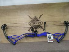 Bow Tech Fanatic 3.0 blue/purple Cbe x4 rest 29in draw length 60lb draw weight