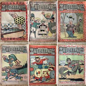 1916 RARE : lot de 30 journaux L'épatant (Les Pieds Nickelés)