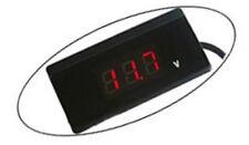 Vehicle Battery Tester Flat Volt Display Voltmeter Cigarette Lighter 12V 24V