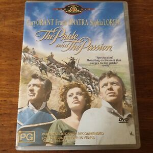 The Pride and the Passion DVD R4 Like New! FREE POST