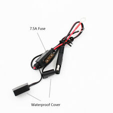 1pc Motorcycle Car Battery Charger Cable Ring Terminal Harness Quick Disconnect