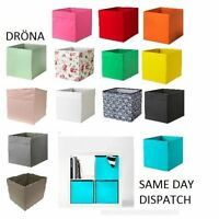 2 x IKea Drona Box Expedit magazine storage Kallax Shelving Boxes Brand BNWT NEW