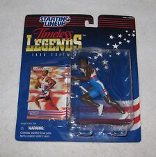 Michael Johnson  Action Figure Kenner Starting Lineup Timeless Legends NIP 1996