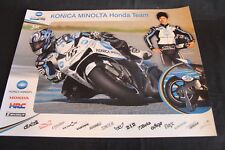 Poster Team Konica Minolta JIR Honda RC212V 2007 #56 Shinya Nakano (JAP)