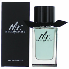 Men Mr. Burberry by Burberry 3.3 3.4 oz EDT Cologne New In Box Sealed Spray