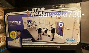 Star Wars Vintage Collection TANTIVE IV PLAYSET W/ REBEL FLEET TROOPER
