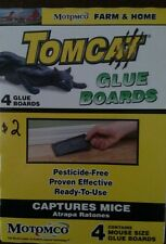 Tomcat glue boards(mice spiders and camel crickets)