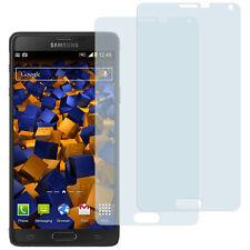 mumbi 2x Folie für Samsung Galaxy Note 4 Schutzfolie klar Displayschutz Display