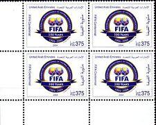 UAE 2004 ** Mi.755 Bl/4 100 Jahre Internationaler Fußballverband FIFA