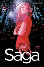 IMAGE Brian K. Vaughan SAGA #3 1ST PRINT! SOLD OUT!