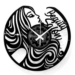 Reloj de Pared Salón Belleza Centro Estética Cosmetólogo Beauty Salon