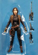 """Star Wars The Black Series 3.75"""" Rogue One Jyn Erso Walmart Exclusive TVC Loose"""