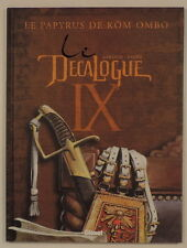 Decalogue 9 Faure Giroud Glenat EO
