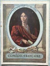 Programme COMEDIE FRANCAISE Il ne faut jurer de rien LES ROMANESQUES 1933 *