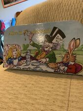 Alice In Wonderland Cup And Spoon Set Nib