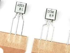 5x  Pairs 2SA933 R & 2SC1740 R Transistor - 2SA933R & 2SC1740R - ROHM Japan -NOS