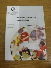 07/12/1994 Manchester United v Galatasaray [Champions League] . Any faults with