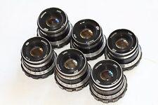 Industar-61 53mm 50mm f/2.8 lens M39 Zorki Leica 35mm film camera RF 6 pcs.